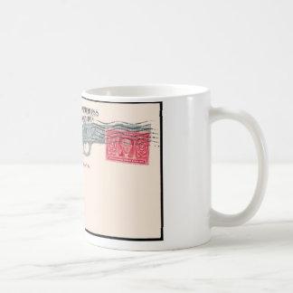 Taza De Café tarjeta, ninguna dirección