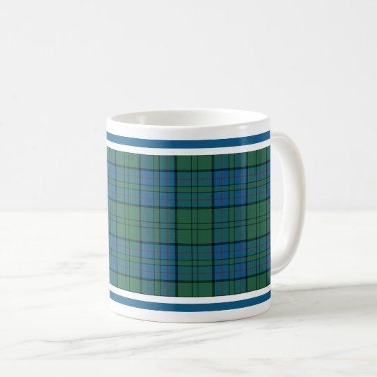 Taza De Café Tartán del escocés del clan de Lockhart