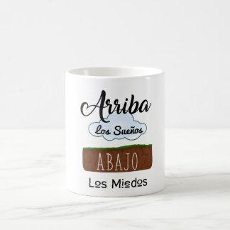 Taza De Café Taza, Arriba los sueños abajo los miedos