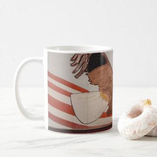 Taza De Café ¡taza de café de griterío del águila!