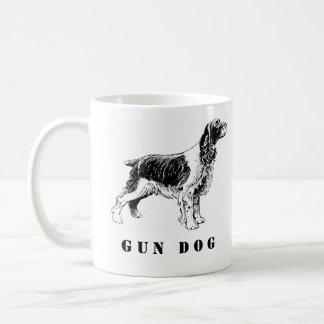 """Taza De Café """"Taza de cerámica del perro de aguas de saltador"""