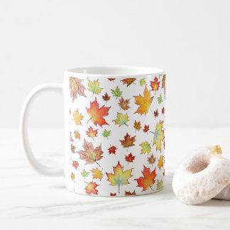 Taza De Café ¡Taza de la hoja de arce - personalizable!