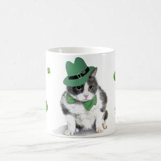 Taza De Café Taza:  Felix, el gato, en marzo