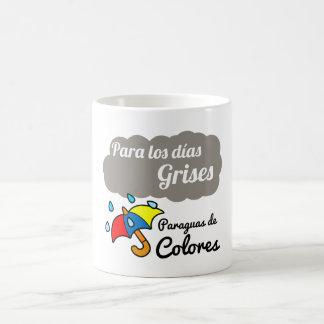 Taza De Café Taza, Para los días grises paraguas de colores