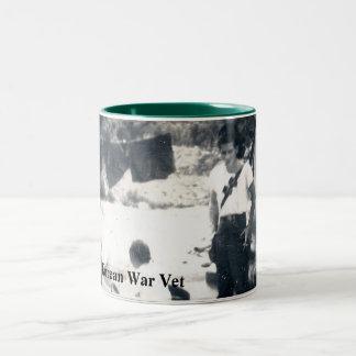 Taza de café/taza que honra a veteranos de Guerra