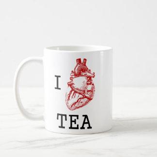 Taza De Café Té anatómico del corazón I
