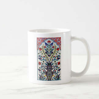 Taza De Café Tejas islámicas tradicionales del diseño floral