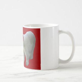 Taza De Café Tenga un oso polar Santa de las Felices Navidad de