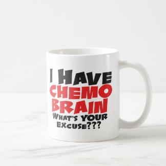Taza De Café Tengo cerebro de Chemo