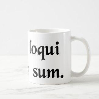 Taza De Café Tengo esta obligación para hablar el latín