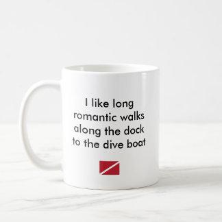 Taza De Café Tengo gusto… del barco romántico largo de la