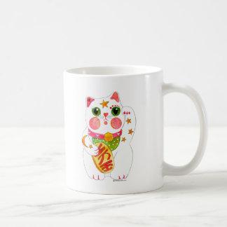 Taza De Café Tentar el gato Maneki Neko