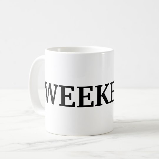 Taza De Café TGI el fin de semana