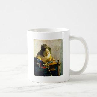 Taza De Café The Lacemaker, Jan Johannes Vermeer
