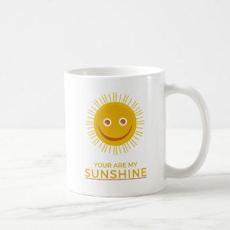 Taza De Café The Sun amarillo - usted es mi sol