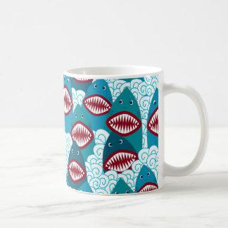 Taza De Café Tiburones enojados