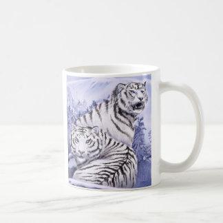 Taza De Café Tigres del hielo