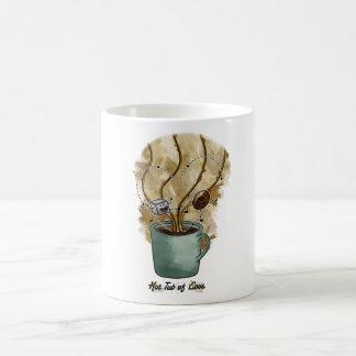 Taza De Café Tina caliente de amor