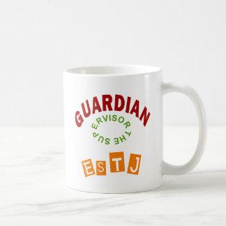 Taza De Café Tipo de personalidad del guarda de ESTJ