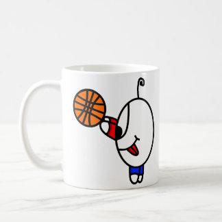 Taza De Café tipo divertido del baloncesto