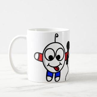 Taza De Café Tipo divertido que canta