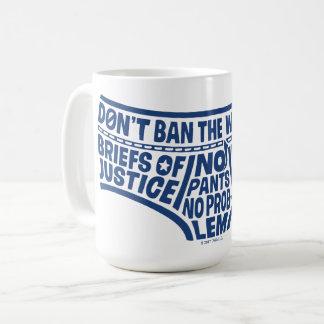 Taza De Café Tipografía Tighty Whities de capitán Underpants el