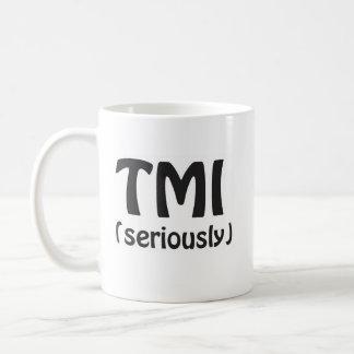Taza De Café TMI demasiada información