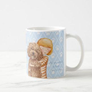 Taza De Café Todo lo que usted necesita es amor y un