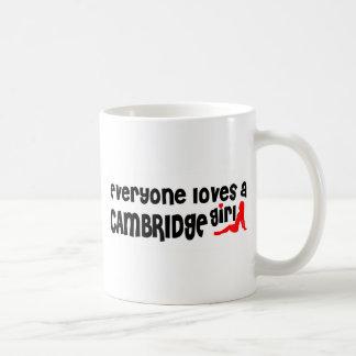 Taza De Café Todos ama a un chica de Cambridge