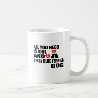 Taza De Café Todos usted necesita diseños de los perros de