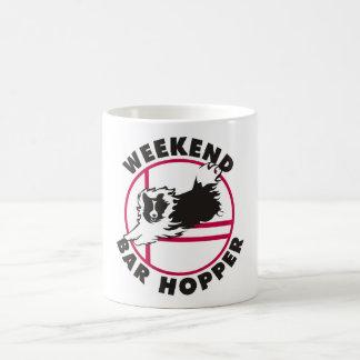 Taza De Café Tolva de la barra del fin de semana de la agilidad