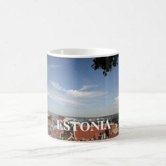 Taza De Café Tops del tejado en Estonia, ESTONIA