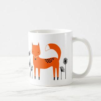 """Taza De Café """"Trabajo de arte original"""" Fred el Fox"""