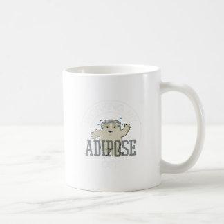 Taza De Café Trabajo de mi ejercicio del adiposo apagado -,