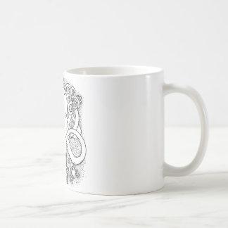 Taza De Café Trabajos múltiple del pulpo