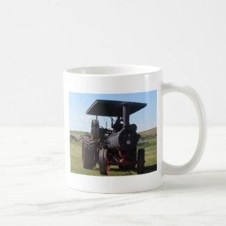 Taza De Café Tractor del vapor de la pradera