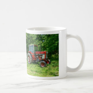 Taza De Café Tractor internacional viejo