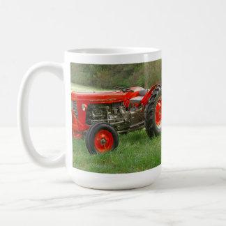 Taza De Café Tractor rojo