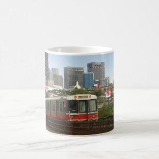 Taza De Café Tren de Boston