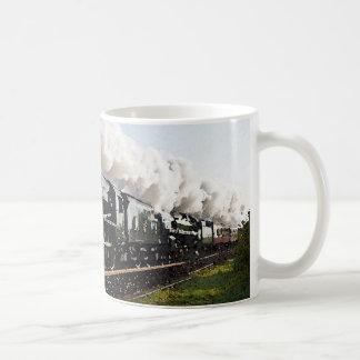 Taza De Café Tren del vapor