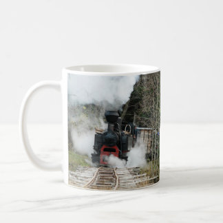 Taza De Café Trenes del vapor de Rumania