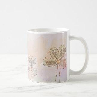 Taza De Café Tres bonitas flores