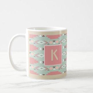 Taza de café tribal