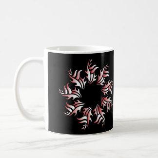 Taza De Café Tribal mug 2 red and white
