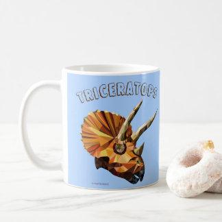 Taza De Café Triceratops - azul