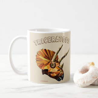 Taza De Café Triceratops - beige