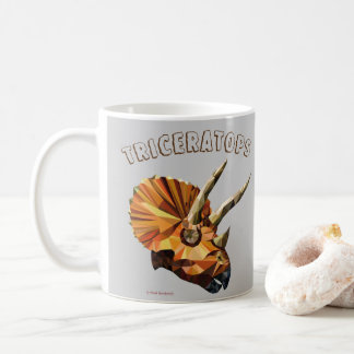 Taza De Café Triceratops - horrorizas