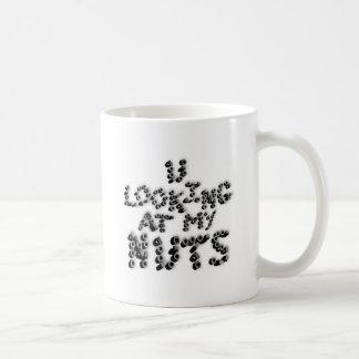 Taza De Café u que mira mis nueces