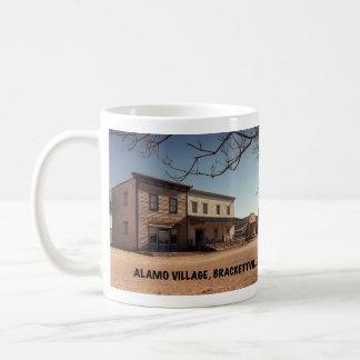 Taza De Café Ubicación de la película del pueblo de Álamo
