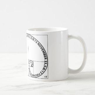Taza De Café Último momento del día de Fibonacci